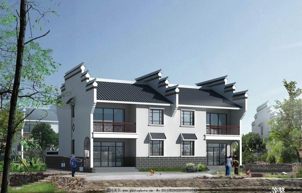 农村住宅房子样式图