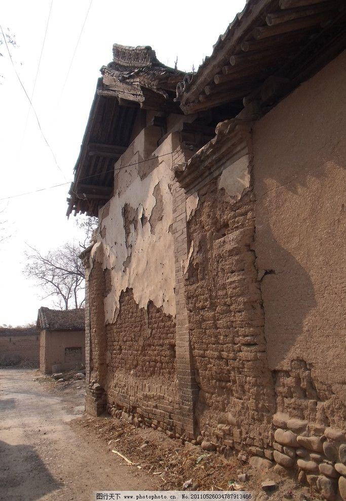 乡村民宅老房子图片