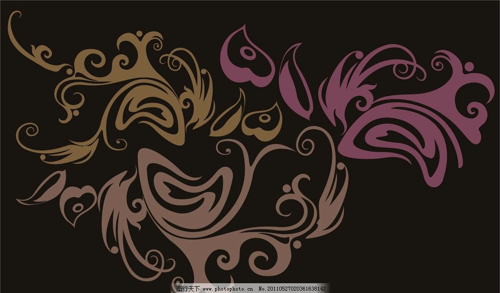 凤尾纹图片图片