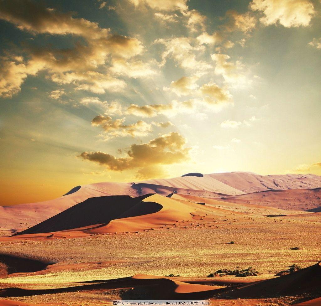 设计图库 海报设计 商业海报  戈壁 沙漠 荒漠 自然风光 天空 云彩