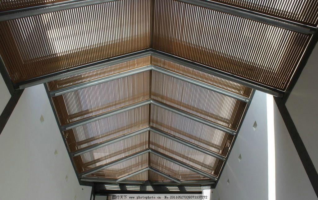 屋顶 木质 木条