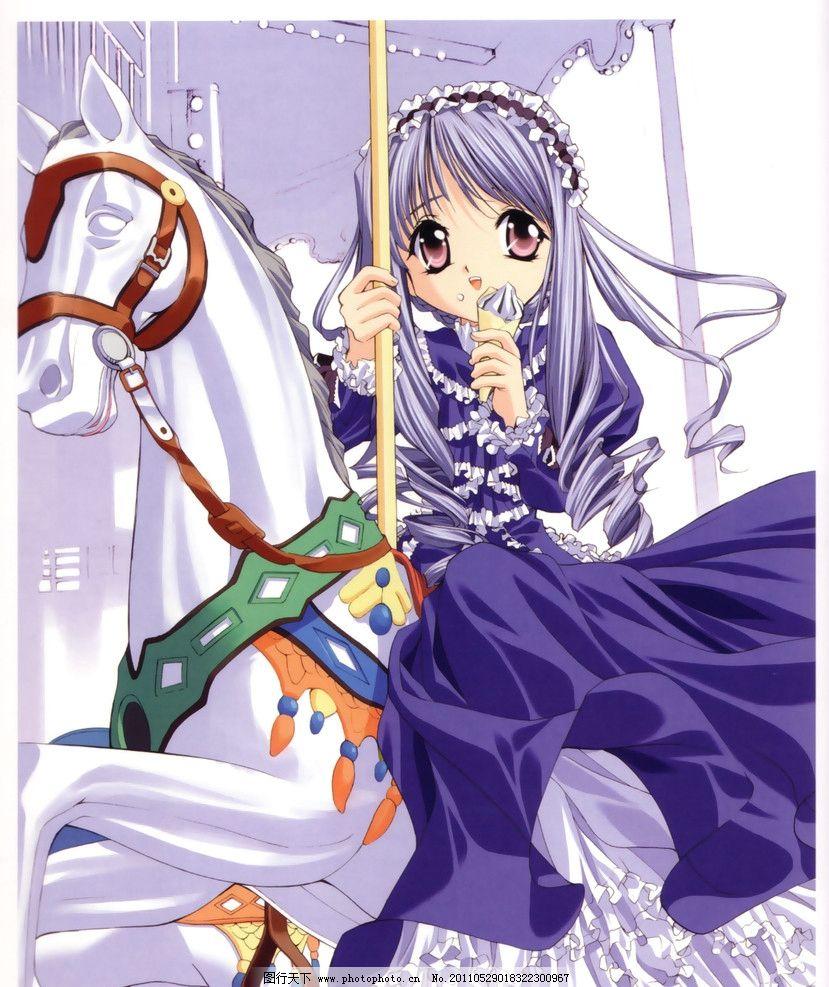 日本 动漫 插画 美女 壁纸 画集 卡通 萝莉 萌系 漂亮 美丽 可爱 可人