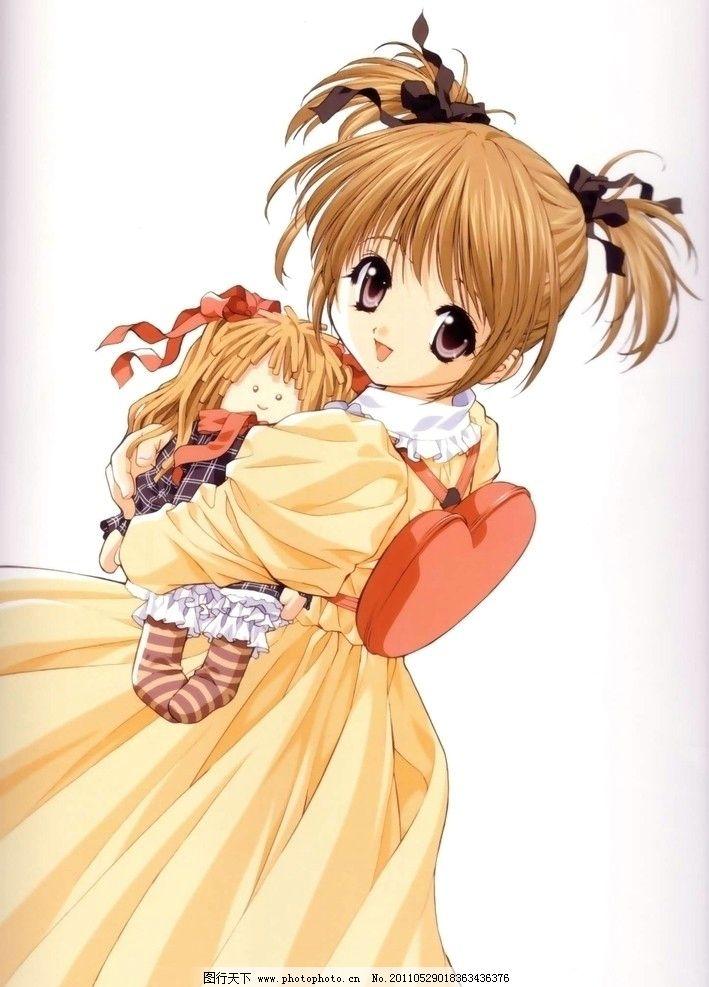 少女 日本 动漫 插画 美女 壁纸 画集 卡通 萝莉 萌系 漂亮 美丽 可爱