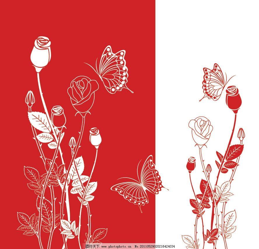 手绘梦幻花纹花朵花卉图片