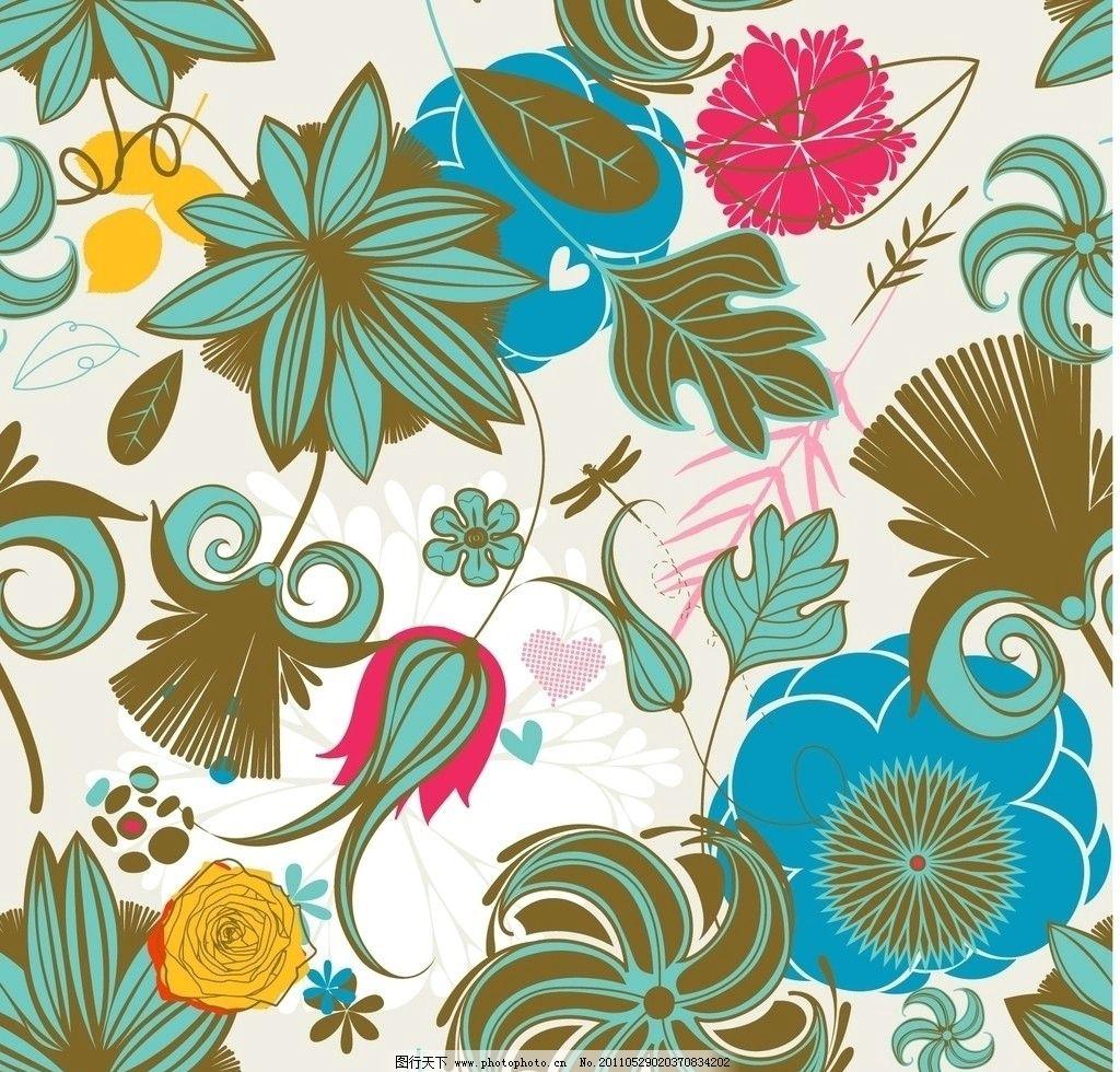 时尚花纹花卉图片