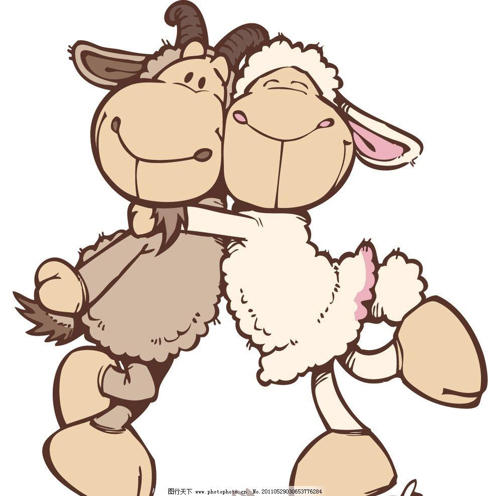 驴图图片,矢量 动物 卡通 服装印花 矢量素材 其他-图