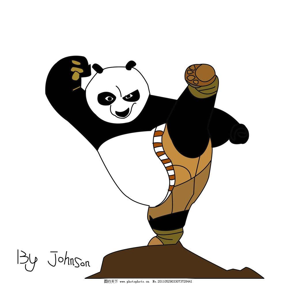 功夫熊猫2电影-卡通图片-高清图片-素彩网