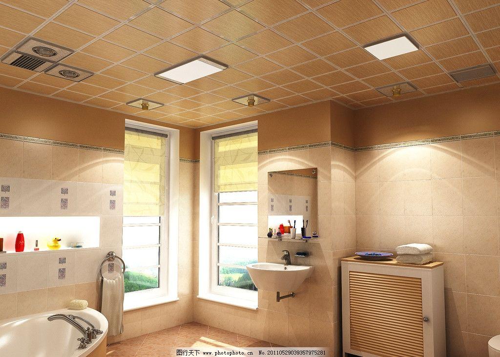 室内摄影 室内装修 卫生间装修 卫生间设计 卫生间吊顶 集成吊顶