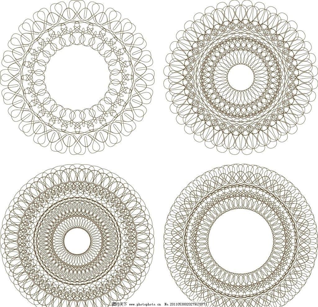 螺旋花纹 螺旋线条 螺旋图案