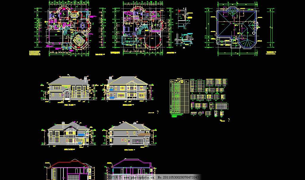 钢结构别墅建筑图片