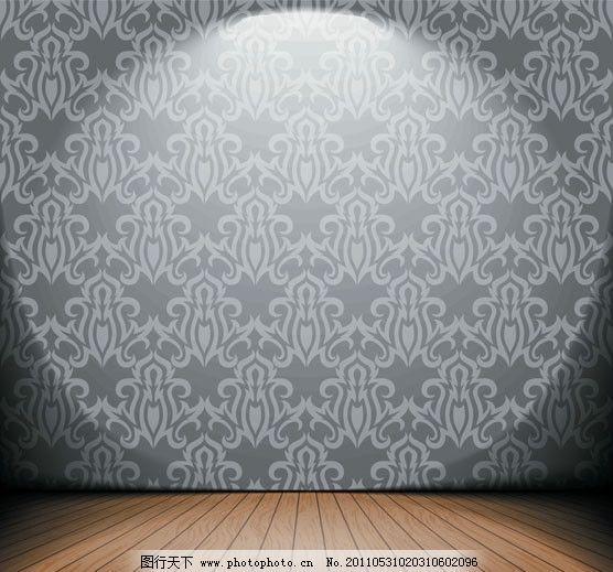 地板 壁纸 木板 木纹 木地板 墙壁 怀旧 复古 欧式 古典 花纹 花边