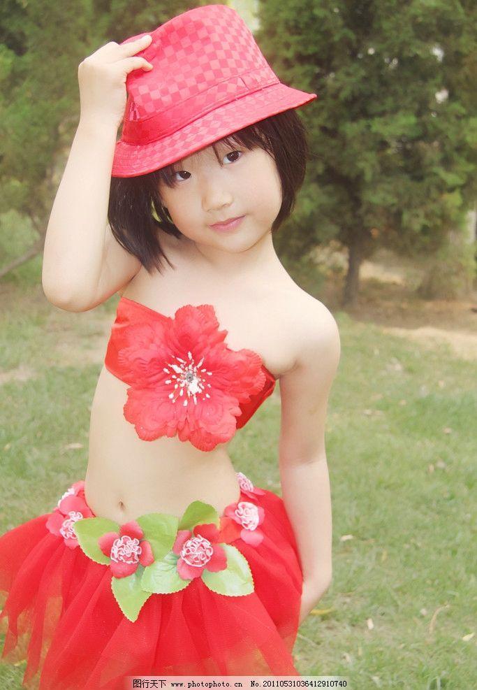 可爱小美女 漂亮宝宝 小红帽 漂亮小红裙 小小舞蹈家 五周小宝贝 小