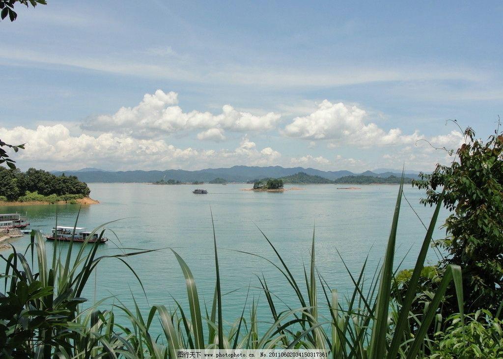万绿湖风景图片