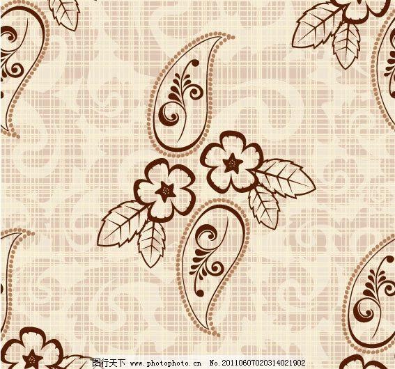 欧式布花纹贴图