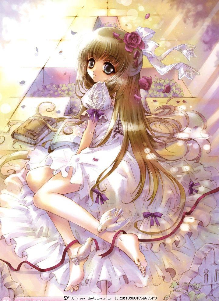 动漫卡通 动漫人物  美少女 女孩子 小女生 小妹妹 cg美少女 日本女孩