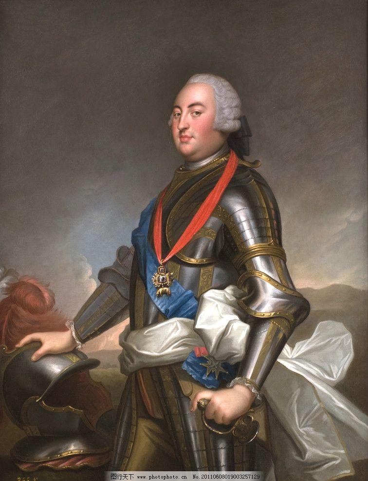 欧洲骑士油画图片