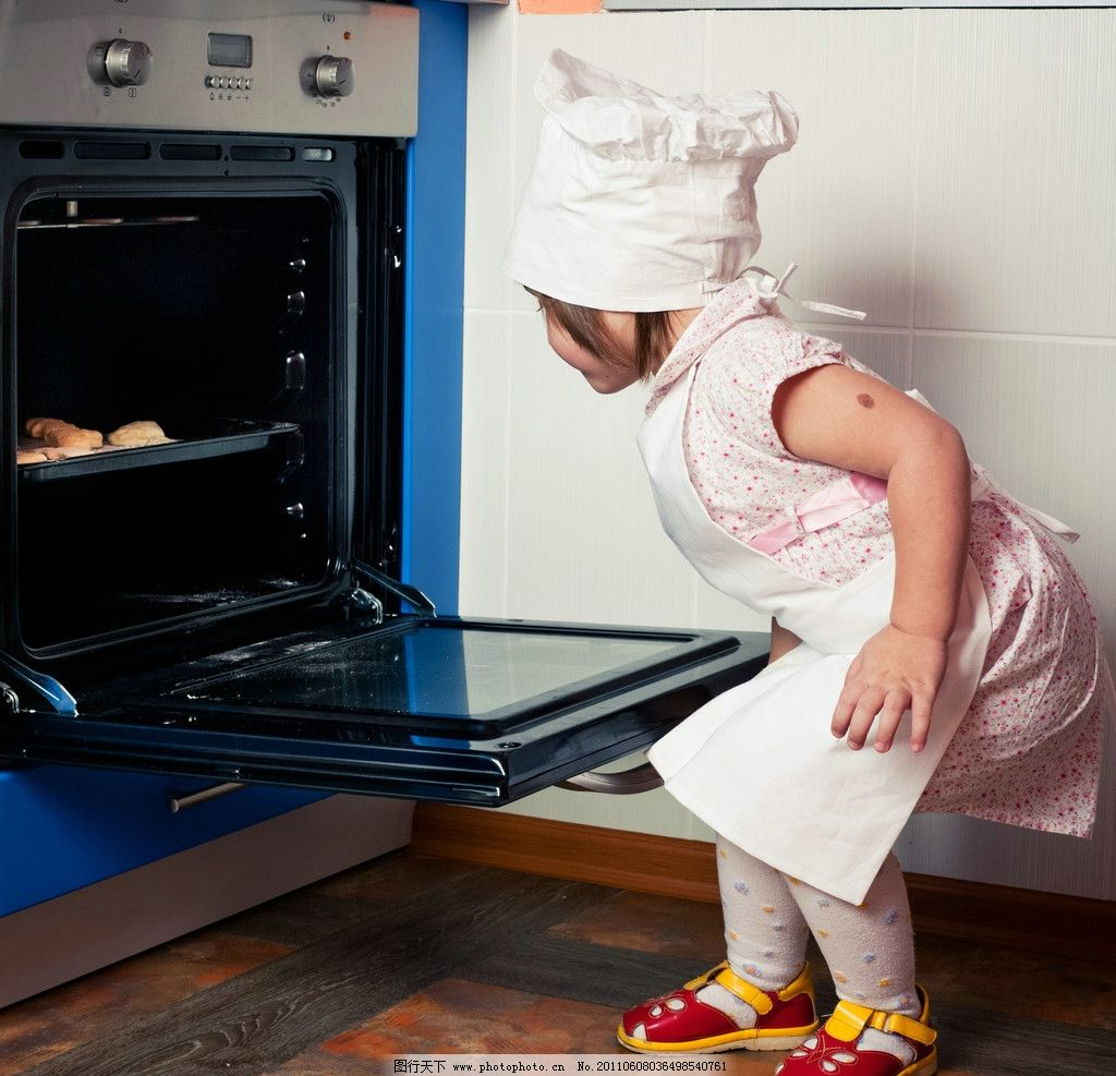 可爱的小厨师图片