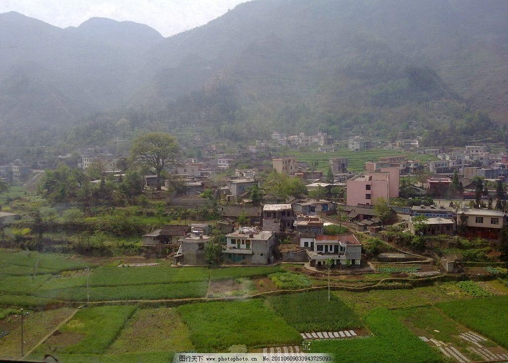 乡村田野图片