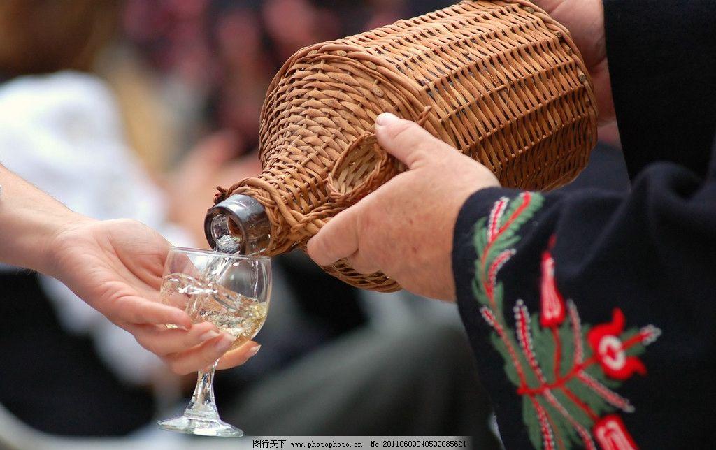 葡萄酒 倒酒 饮料酒水 餐饮美食 摄影