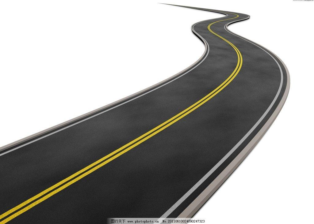 蜿蜒道路图片