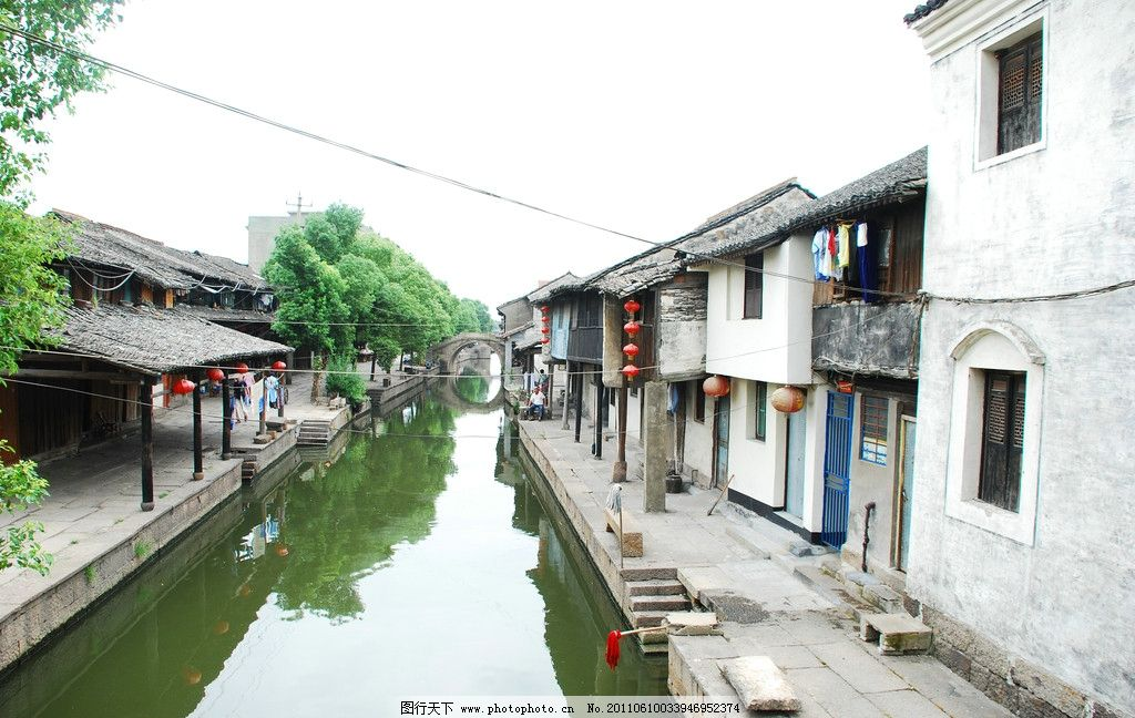 绍兴安昌古镇图片