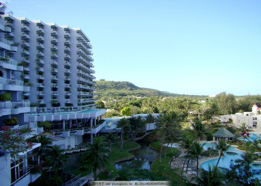 塞班岛 酒店 游泳池 度假 旅游 椰树 开阔 建筑 国外旅游 旅游摄影