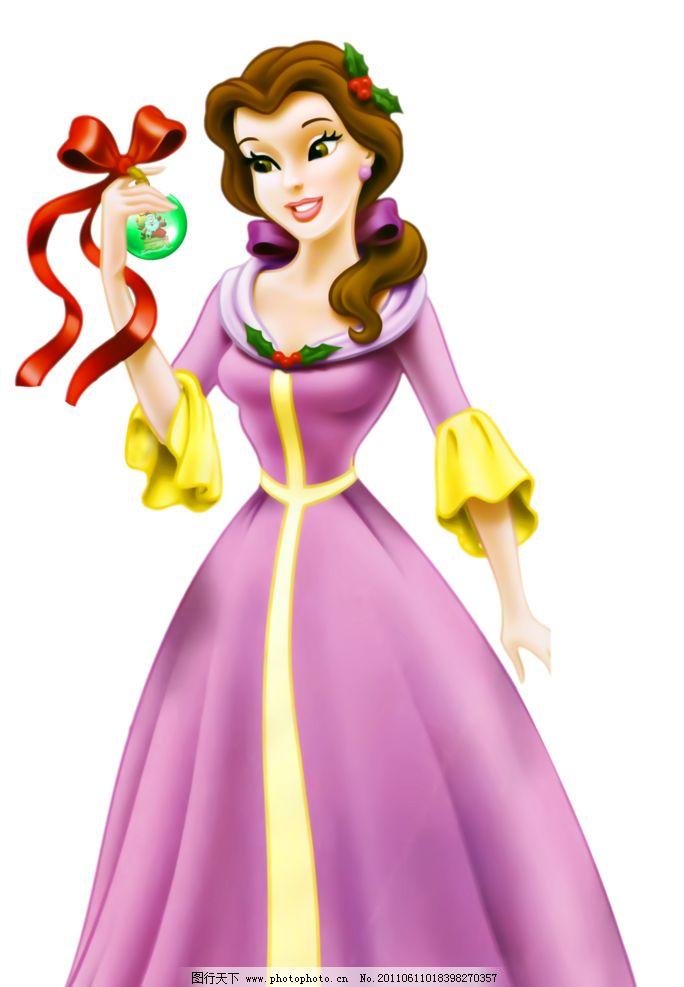 卡通美女公主图片