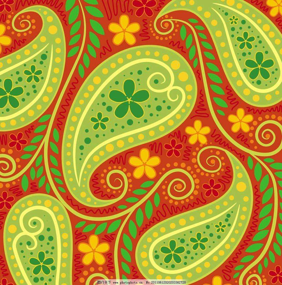 古典花纹背景 火腿纹 花边 纹样 布纹 时尚 传统 欧式 底纹