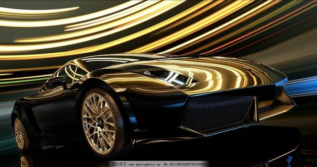 汽车广告 汽车海报 大道 动感 飞驰的汽车 动感汽车