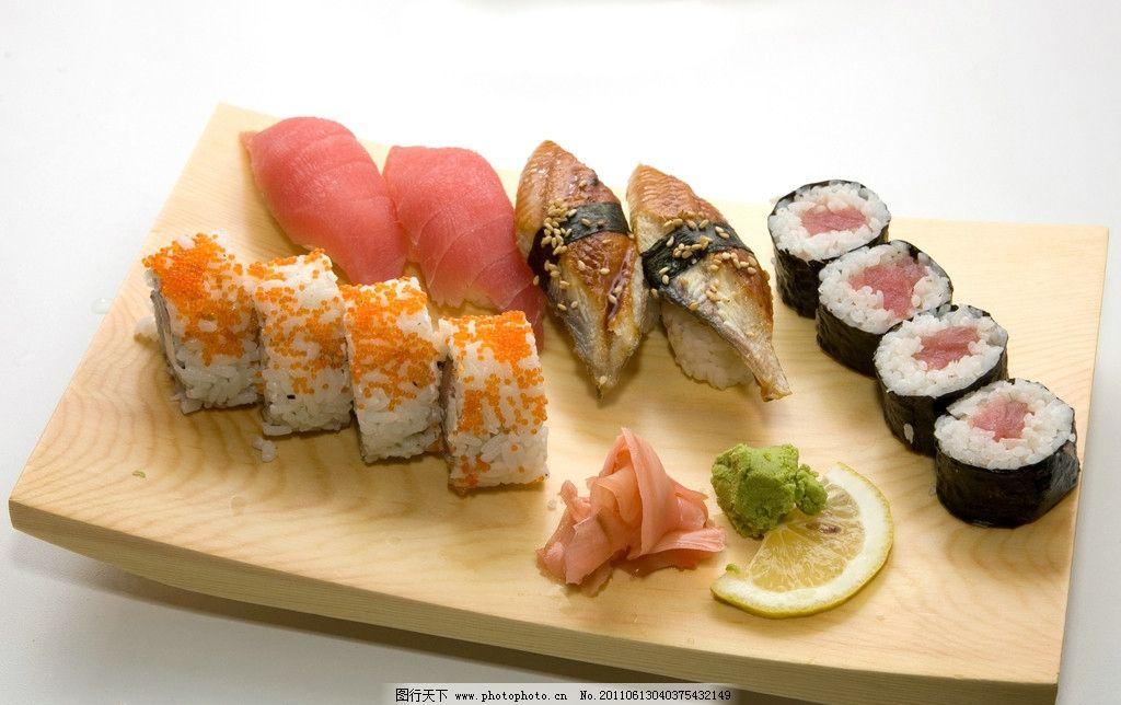 寿司 寿司拼盘 日本寿司 海鲜 青菜 紫菜 美食 饭团 芥末 春卷 食品