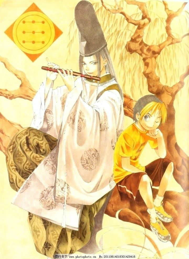 棋魂 动漫 日本 卡通 古代 小畑健 佐为 动漫人物 动漫动画 设计 72