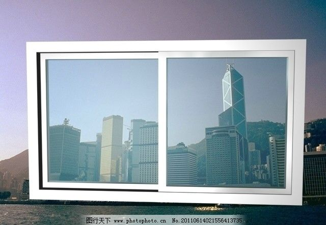 铝合金窗 3d窗户 窗子 金属窗 门窗 玻璃窗 其他模型 3d设计模型 源
