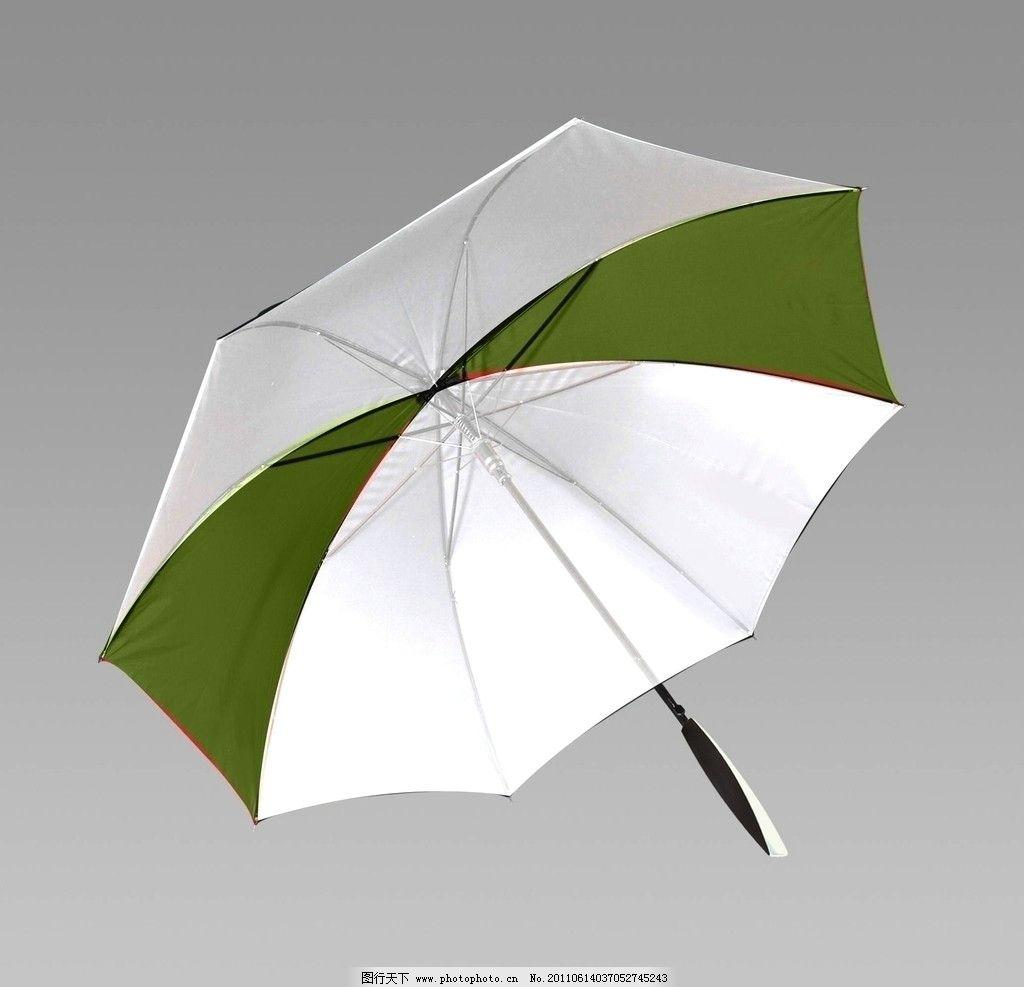 手绘白伞素材