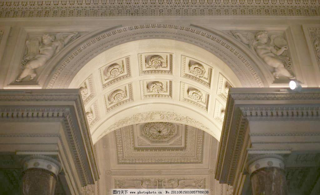 古典欧式拱券图片素材下载