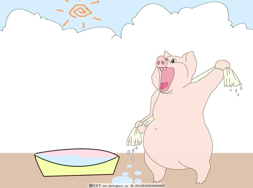 可爱猪图片_生活旅游_生活百科_图行天下图库