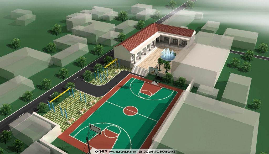 景观设计 环艺设计 城市规划 城镇规划 城市效果图 城市景观 建筑蓝图