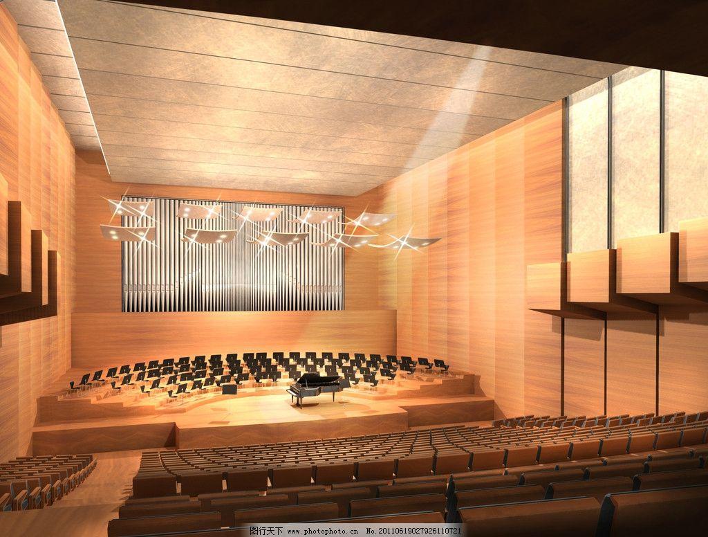 别墅钢琴室内设计图片