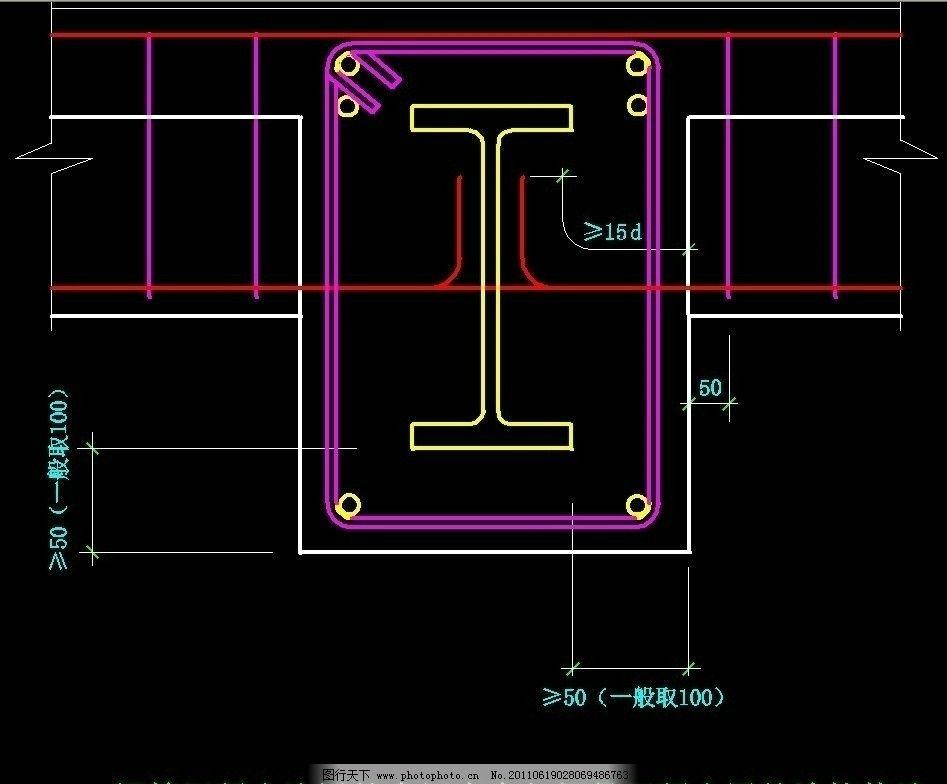 施工图 钢结构 网架 桁架 节点 钢骨 钢格 圆钢 钢管拱 轻钢 h型钢 t