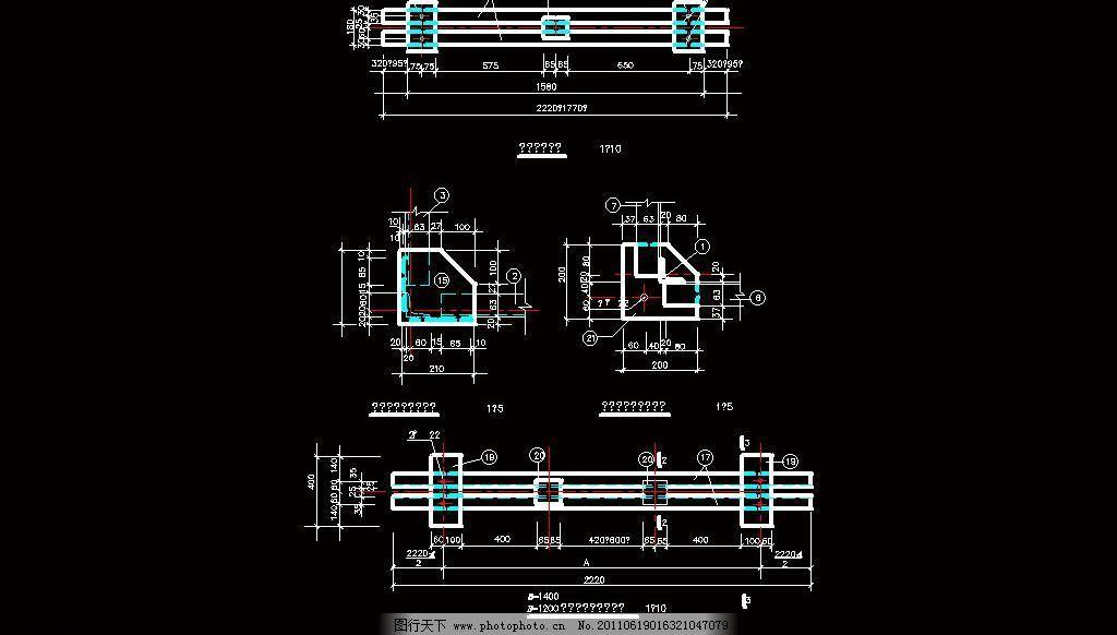 柱3510h车位五米柱顶个数图片_其他_CAD素cad型钢v车位汽车详图的怎么图片