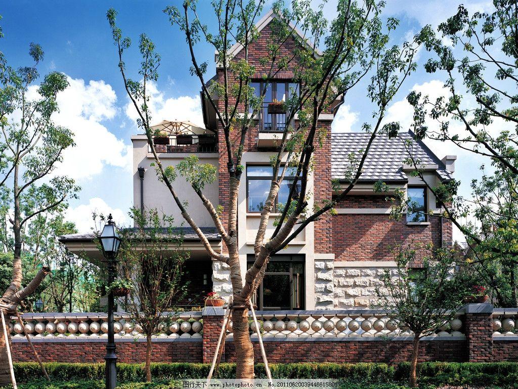 欧式建筑 欧式小区 欧式风格 别墅 地中海风格 地中海别墅 建筑外立面