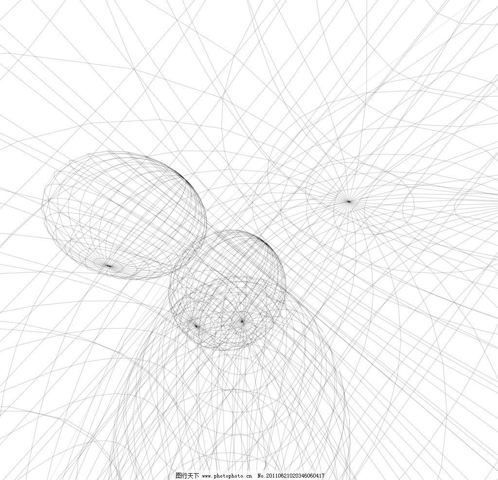 线框 png 立体 线条 曲线 直线 几何 三维 纹理 背景 结构 立体环线
