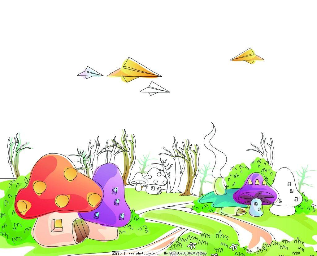 蘑菇森林图片