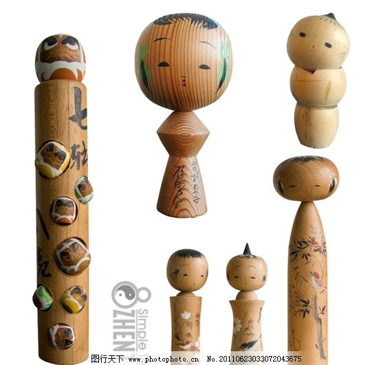 可爱日本木偶图片