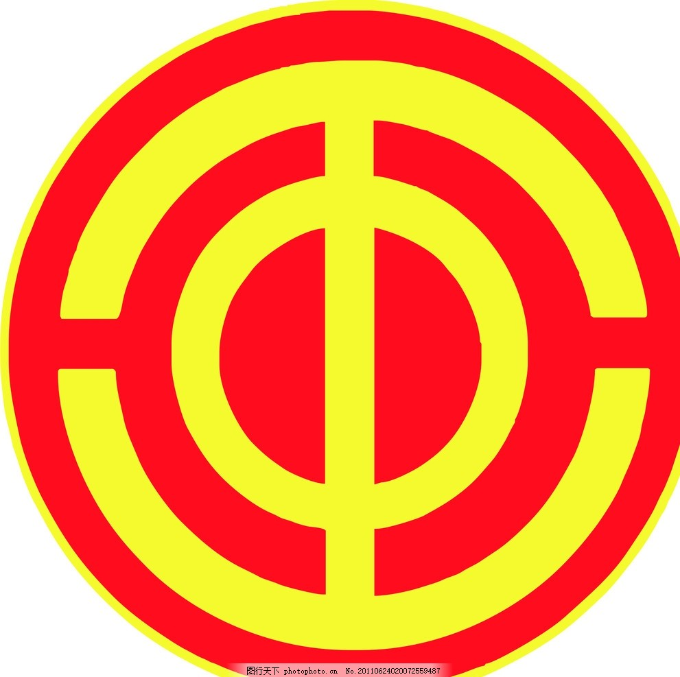 工会会徽 会徽标志 工会会徽标志 矢量标志 小图标 标识标志图标