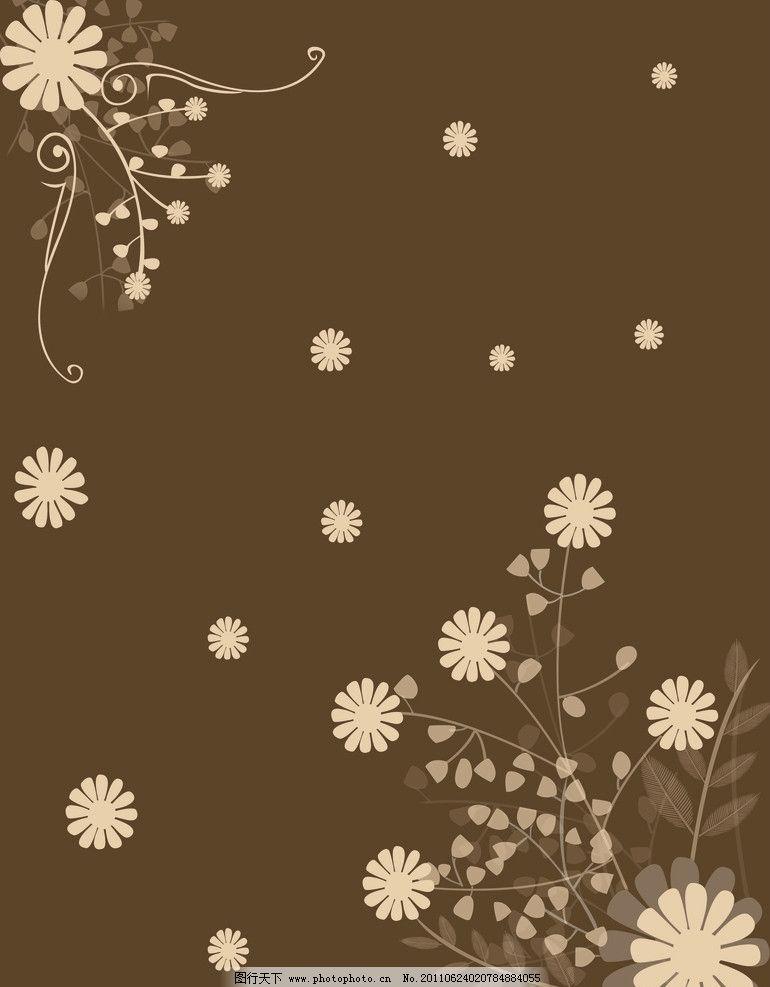 移门 花纹 花朵 树叶 线条 枝条 树枝 小花 移门图案 底纹边框