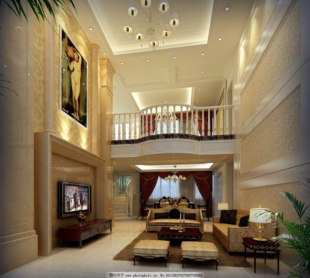 大廳 室內 家裝 沙發 吊燈             家居 室內設計 環境設計 設計