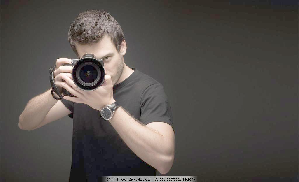 帅哥摄影图片
