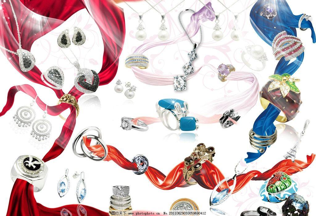 珠宝首饰主题封面设计图片