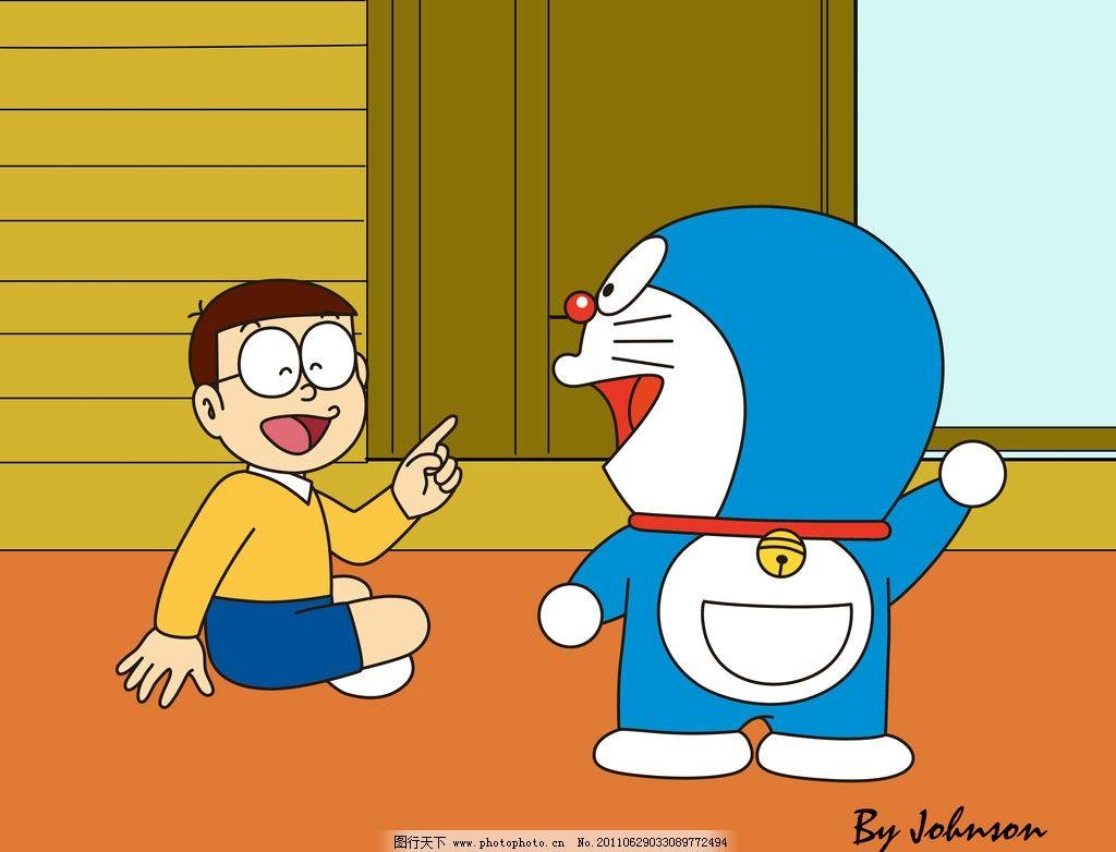 大雄和多啦a梦 名古屋 日本 卡通 可爱 铜锣烧 神奇口袋 源文件