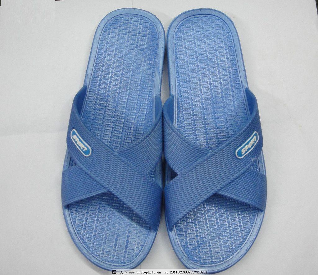 凉拖鞋图片